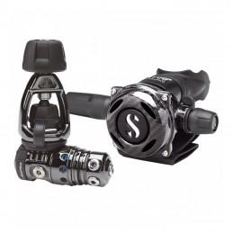 MK25 EVO / A700 منظم الغوص المغطى بالكاربون الأسود