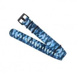 Teric Blue Camo Nylon Strap...