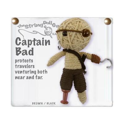 Captain Bad Key Chain