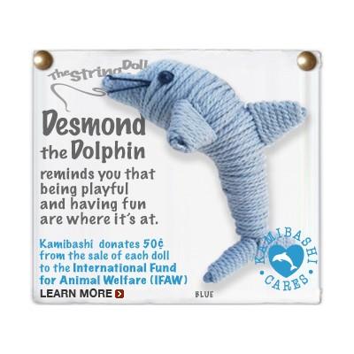 Desmond The Dolphin Key Chain