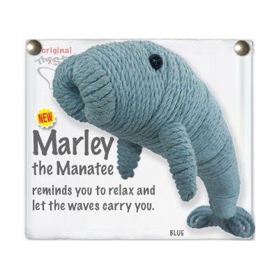 Marley The Manatee Key Chain