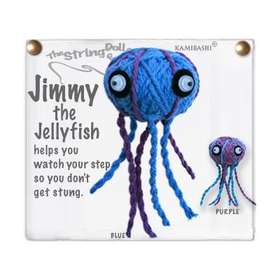 Jimmy The Jellyfish Key Chain
