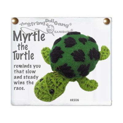 Myrtle The Turtle Key Chain