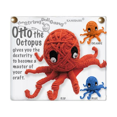 Otto The Octopus Key Chain
