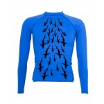 BLUES RASH GUARD